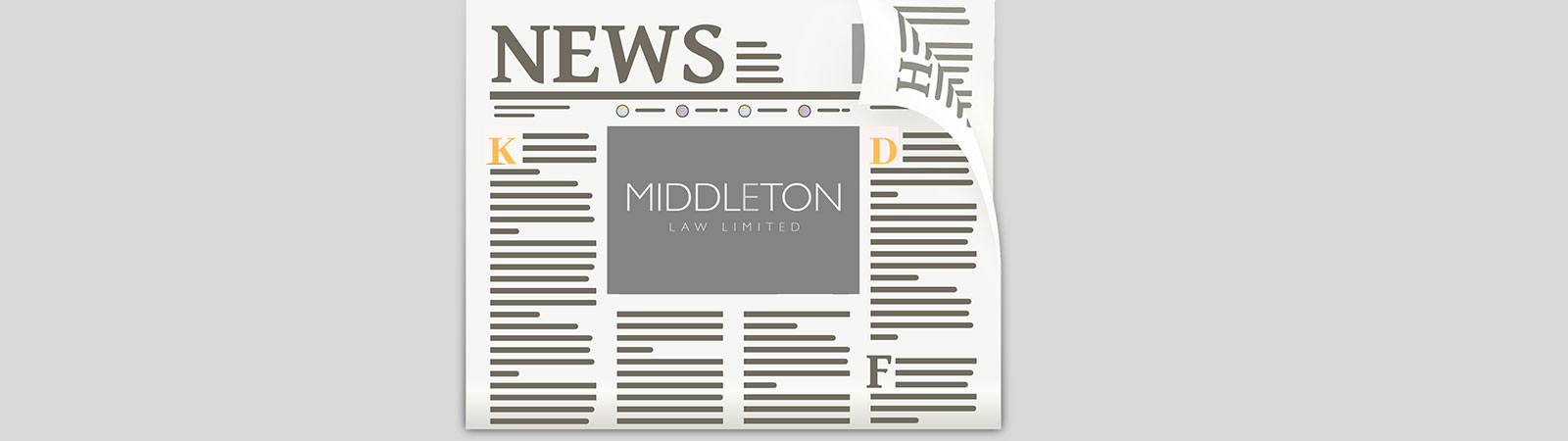 Newspaper image for Middleton Law